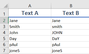 EXACT 1 - How to use the Excel EXACT function