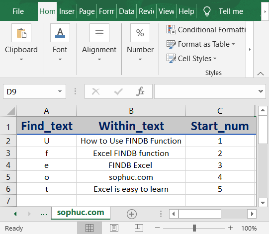 Excel FINDB - How to use the Excel FINDB function