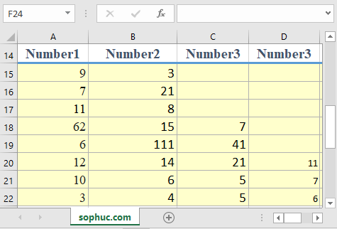 Excel LCM function - How to use the Excel LCM function