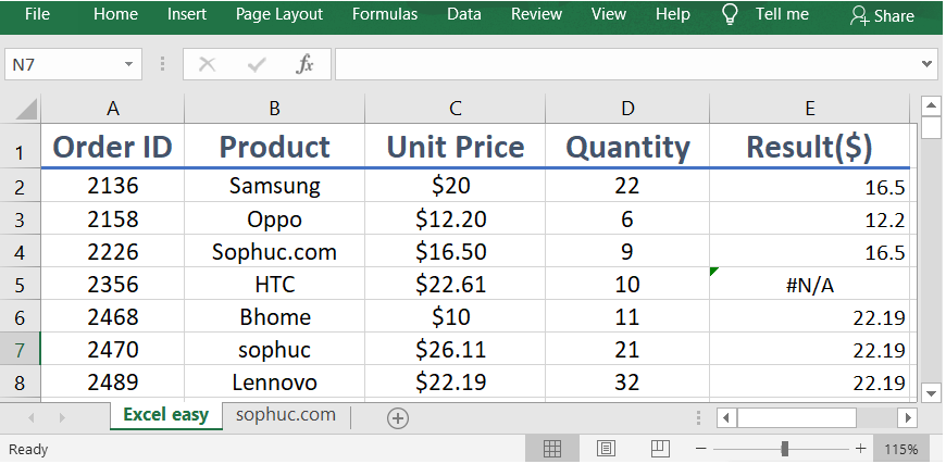 Excel LOOKUP 1 - How to use the Excel LOOKUP function