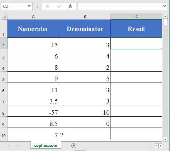 Excel QUOTIENT function - How to use the Excel QUOTIENT function