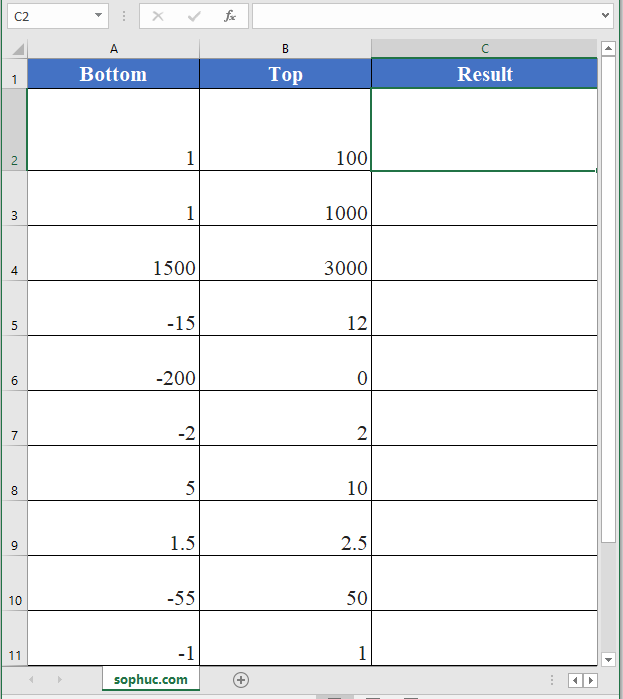 Excel RANDBETWEEN function - How to use the Excel RANDBETWEEN function