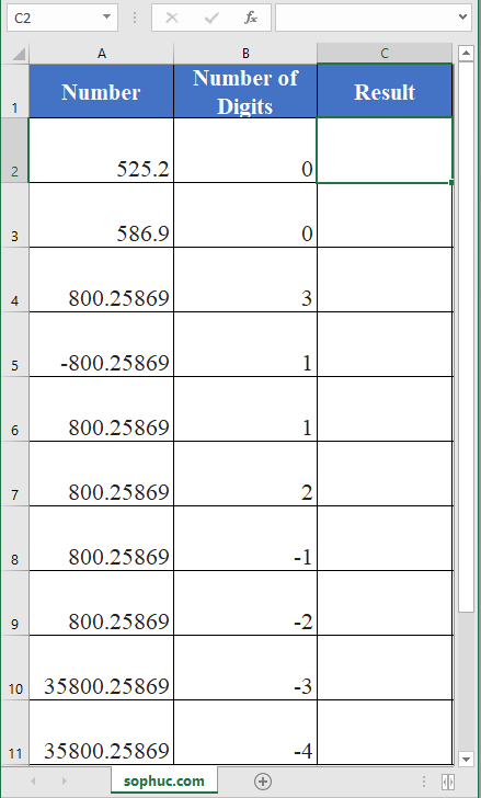 Excel ROUNDUP function - How to use the Excel ROUNDUP function