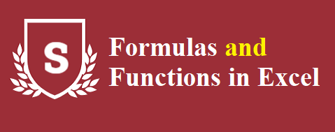 Formulas and Functions in Excel - Formulas and Functions in Excel