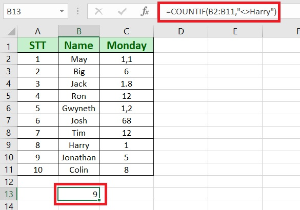 countif not blank - How to use countif in excel