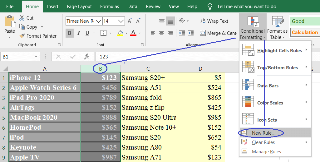 countif sophuccom 2 - How to use countif in excel
