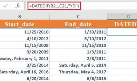 dateif 7 445x265 - How to use the Excel DATEDIF function