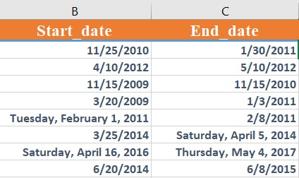 dateif - How to use the Excel DATEDIF function