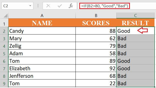 excel if formula - How to use if function in excel