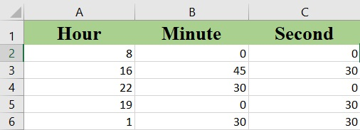 excel time - How to use the Excel TIME function