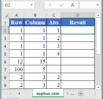 How to use ADDRESS Function in Excel