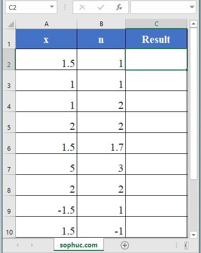 BESSELK Function - How to use BESSELK Function in Excel