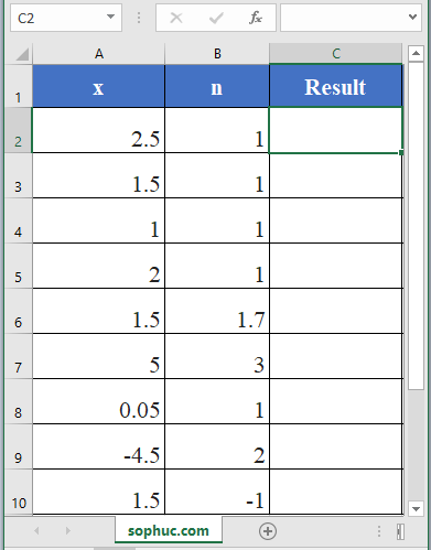 How to use BESSELY Function in Excel