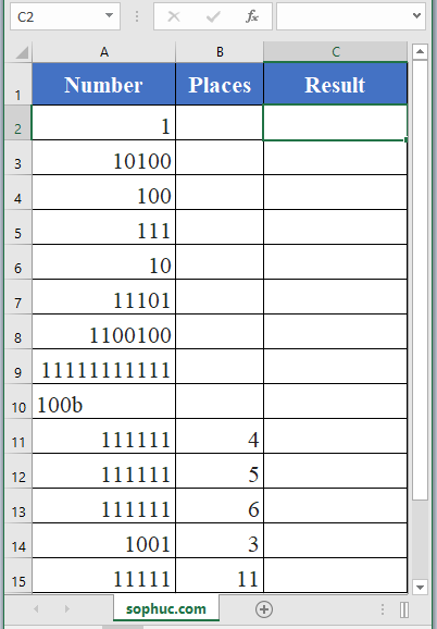 BIN2OCT Function - How to use BIN2OCT Function in Excel