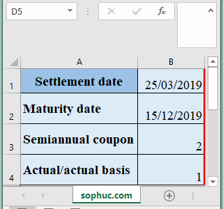 COUPDAYBS Function 1 - How to use COUPDAYBS Function in Excel