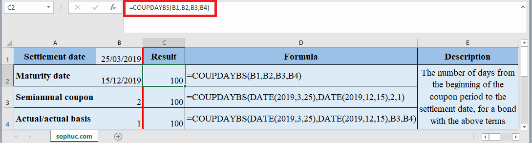 COUPDAYBS Function in Excel - How to use COUPDAYBS Function in Excel