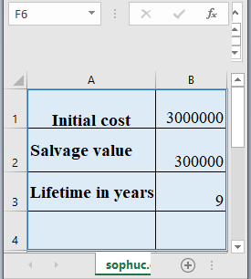 DB Function - How to use DB Function in Excel