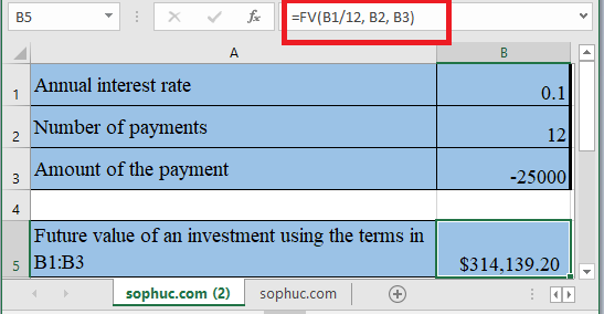 FV Function - How to use FV Function in Excel