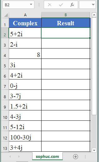 IMARGUMENT Function 1 - How to use IMARGUMENT Function in Excel