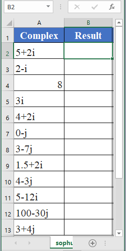 IMCONJUGATE Function - How to use IMCONJUGATE Function in Excel
