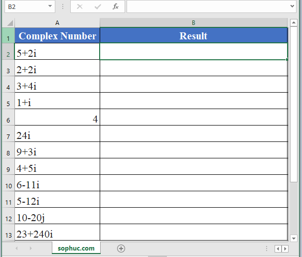 IMLN Function - How to use IMLN Function in Excel
