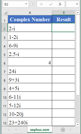 IMREAL Function - How to use IMREAL Function in Excel