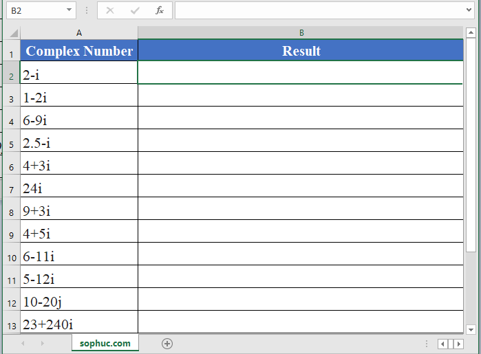 IMSECH Function - How to use IMSECH Function in Excel