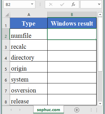INFO Function - How to use INFO Function in Excel