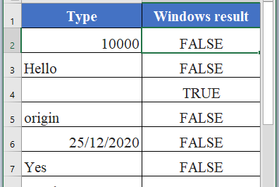 ISBLANK Function in Excel 396x265 - How to use ISBLANK Function in Excel