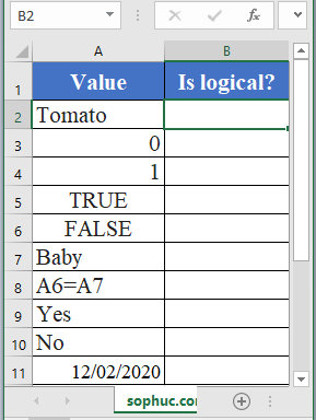 ISLOGICAL Function - How to use ISLOGICAL Function in Excel