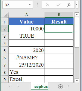 ISNONTEXT Function - How to use ISNONTEXT Function in Excel