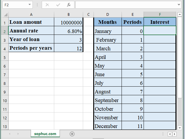 ISPMT Function - How to use ISPMT Function in Excel