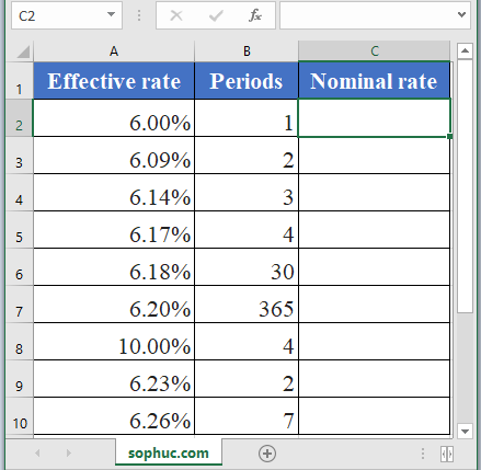 NOMINAL Function - How to use NOMINAL Function in Excel