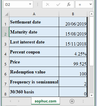ODDLYIELD Function - How to use ODDLYIELD Function in Excel
