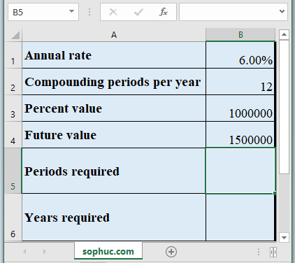 PDURATION Function - How to use PDURATION Function in Excel