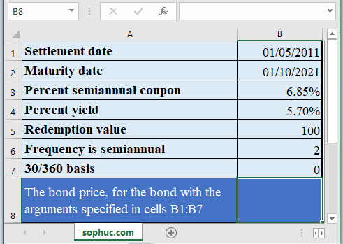 PRICE Function - How to use PRICE Function in Excel