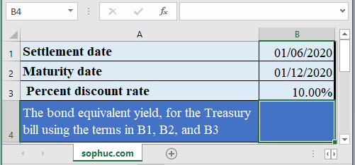TBILLEQ function - How to use the Excel TBILLEQ function