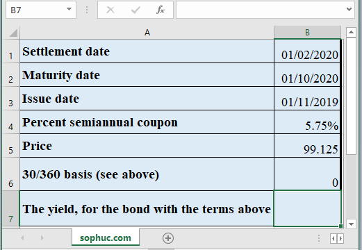 YIELDMAT Function - How to use YIELDMAT Function in Excel
