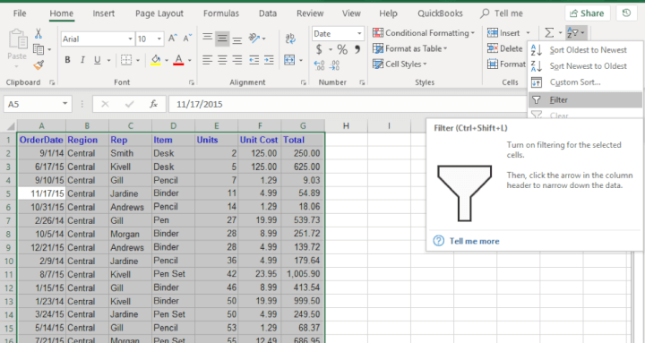 11 best excel tips for beginners 2958 2 - 21 Best Excel Tips for Beginners, you need to know now