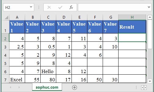 GEOMEAN Function - How to use GEOMEAN Function in Excel
