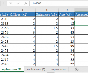 How to use LINEST Function in Excel