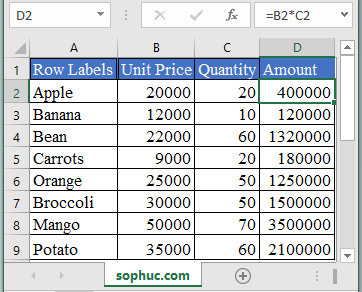 OFFSET Function - How to use OFFSET Function in Excel