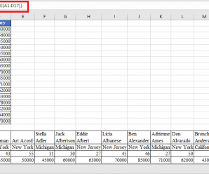 How to use TRANSPOSE Function in Excel