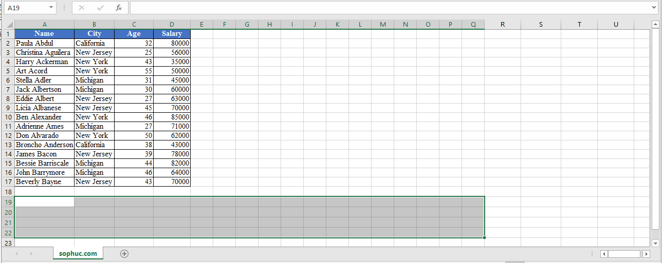 TRANSPOSE Function - How to use TRANSPOSE Function in Excel