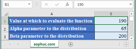 WEIBULL.DIST Function - How to use WEIBULL.DIST Function in Excel