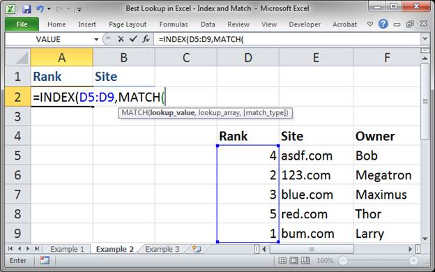 best lookup formula in excel index and match 3373 10 - Best Lookup Formula in Excel - Index and Match