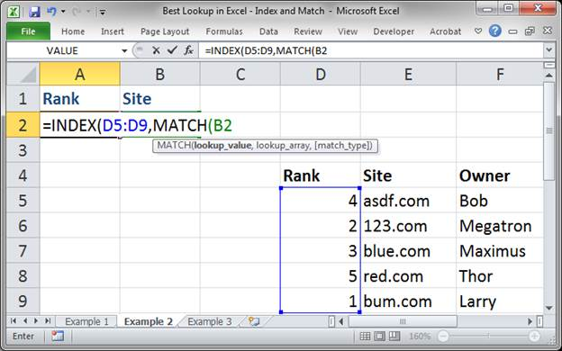 best lookup formula in excel index and match 3373 11 - Best Lookup Formula in Excel - Index and Match