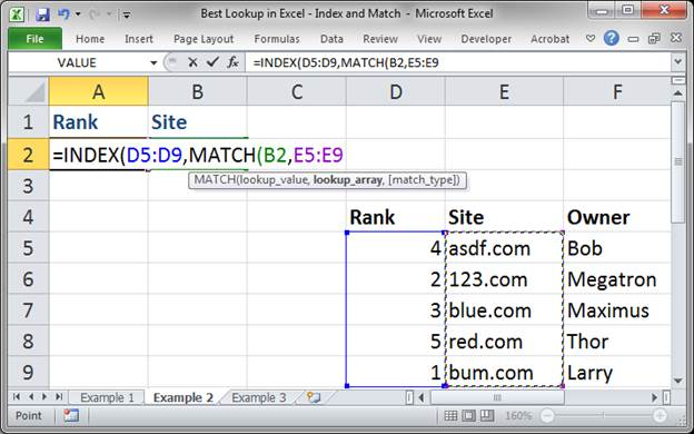 best lookup formula in excel index and match 3373 12 - Best Lookup Formula in Excel - Index and Match