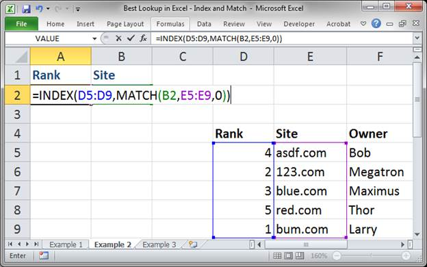 best lookup formula in excel index and match 3373 14 - Best Lookup Formula in Excel - Index and Match