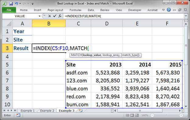 best lookup formula in excel index and match 3373 18 - Best Lookup Formula in Excel - Index and Match